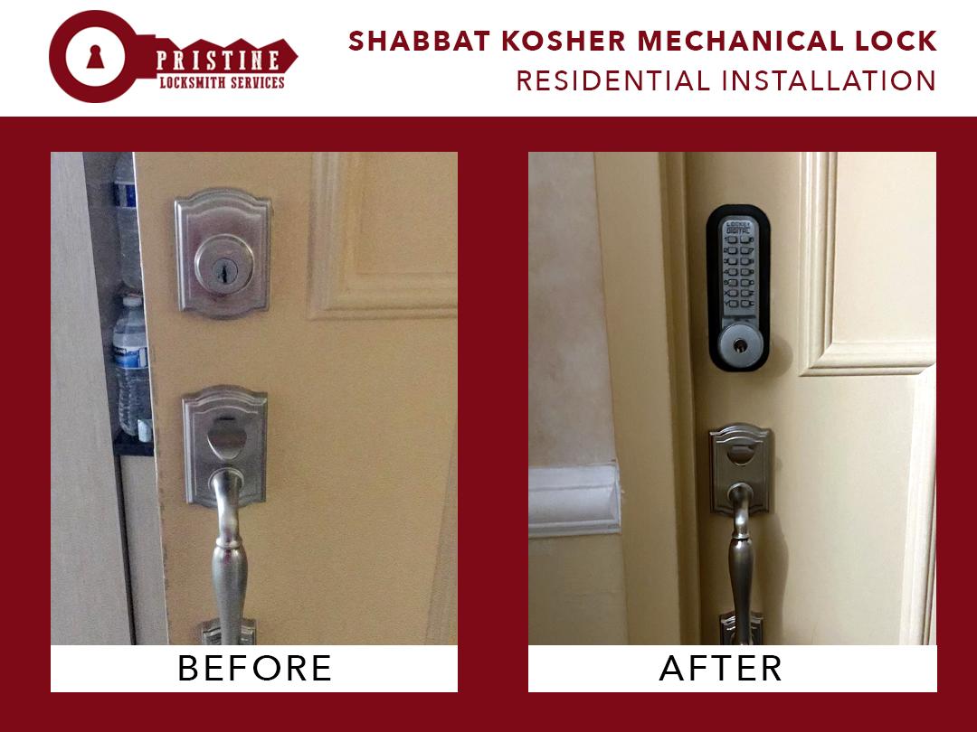 Shabbat Kosher Mechanical Lock